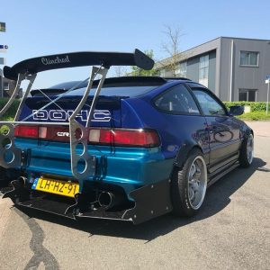 Honda crx chassis mount spoiler